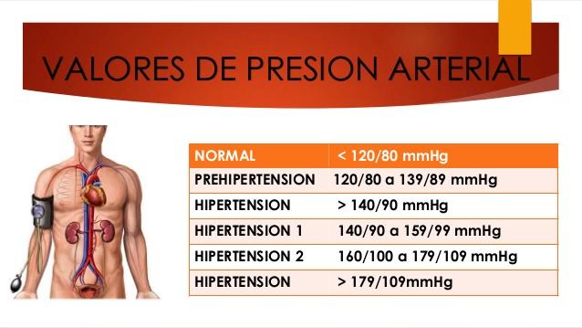 Cómo bajar la presión arterial 120/90